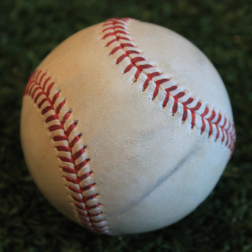 Photo of Game-Used Baseball: Joakim Soria Pitched Strikeout to Hunter Dozier (8/27/19 - OAK @ KC)