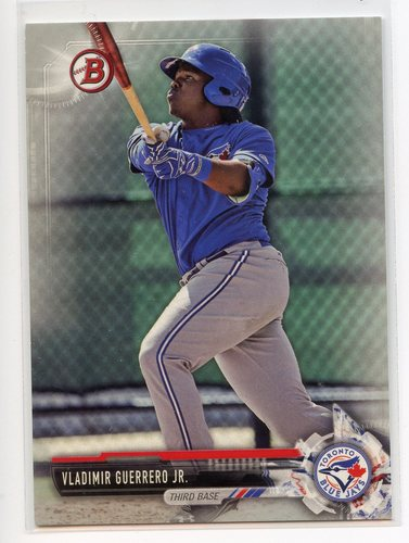 Photo of 2017 Bowman Draft Silver #BD150 Vladimir Guerrero Jr. 147/499