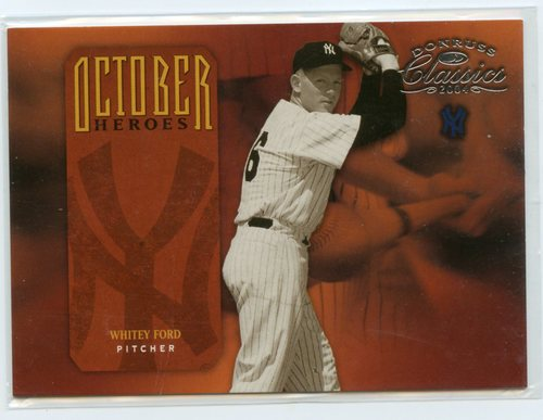 Photo of 2004 Donruss Classics October Heroes #4 Whitey Ford