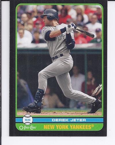 Photo of 2009 O-Pee-Chee Black #200 Derek Jeter