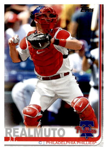 Photo of 2019 Topps Update #US66 J.T. Realmuto