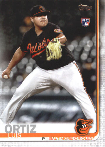 Photo of 2019 Topps #678 Luis Ortiz RC