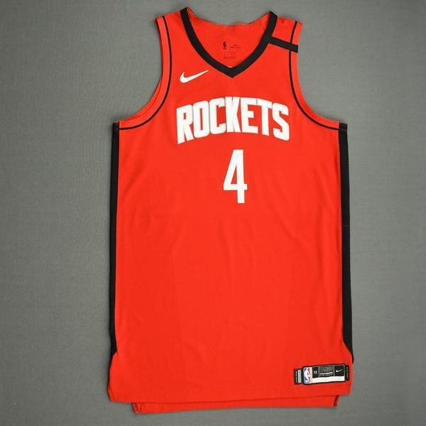 Image of Danuel House Jr. - Houston Rockets - Game-Worn Icon Edition Jersey - 2019-20 NBA Season Restart