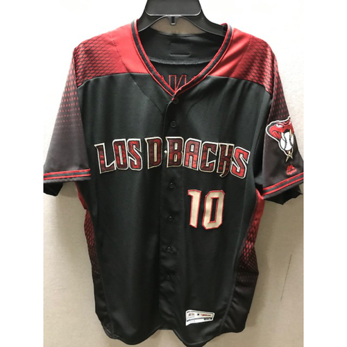 Photo of Adam Jones 2019 Game-Used Los D-backs Jersey (Size 46)