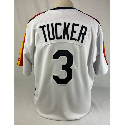 Photo of Kyle Tucker 1980's Team Issued Jersey - Size 46