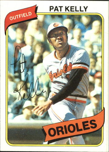 Photo of 1980 Topps #543 Pat Kelly