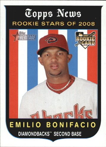 Photo of 2008 Topps Heritage #118 Emilio Bonifacio RC
