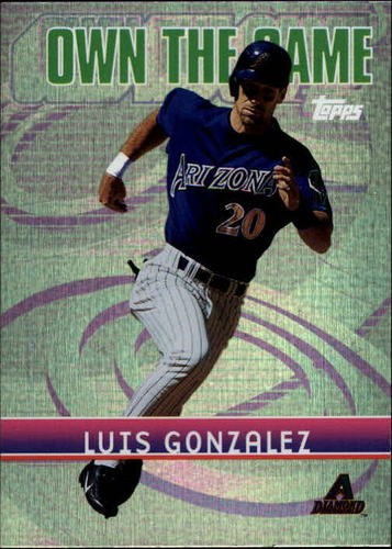 Photo of 2002 Topps Own the Game #OG13 Luis Gonzalez