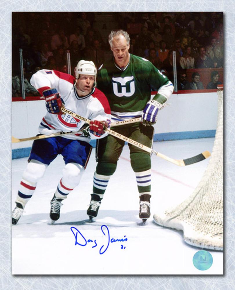 Doug Jarvis Montreal Canadiens Autographed 8x10 Photo