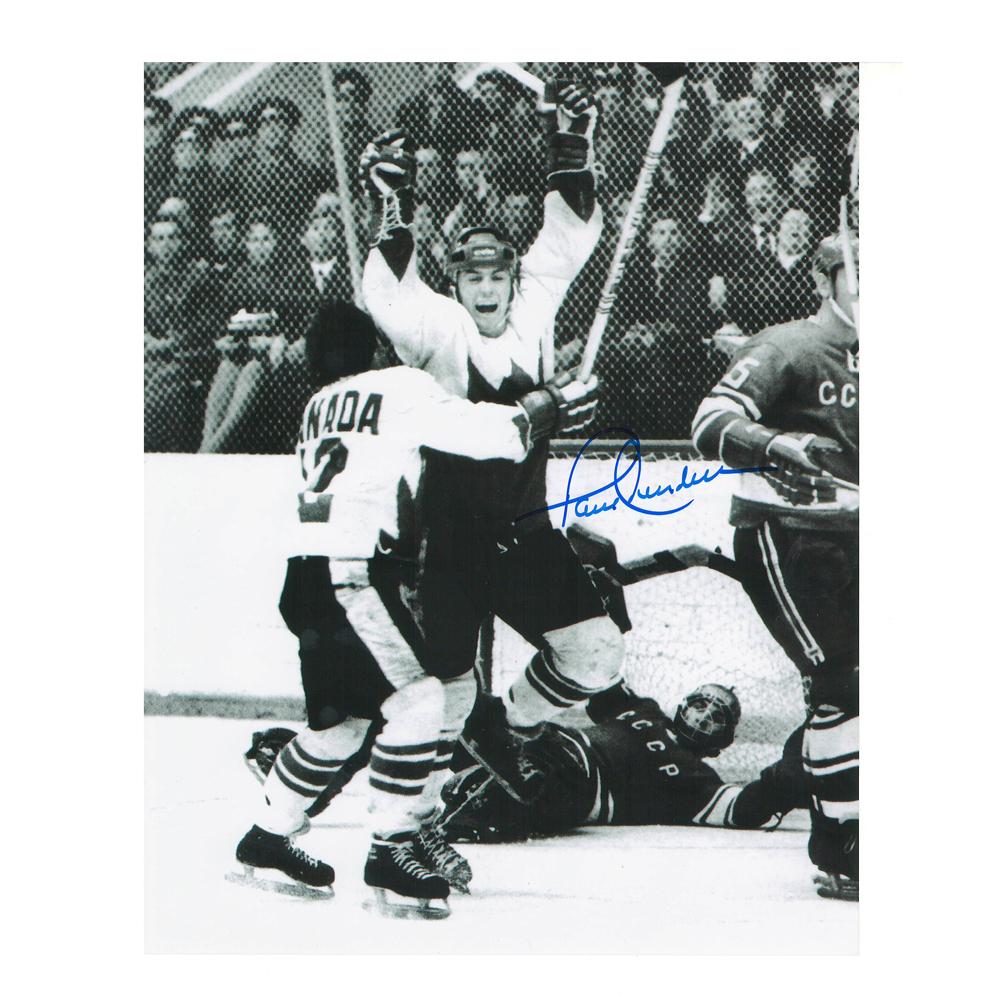 PAUL HENDERSON 1972 Summit Series Team Canada 8 X 10 Photo - 70141