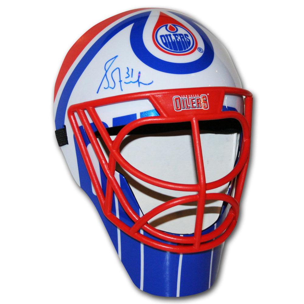 Grant Fuhr Autographed Edmonton Oilers Fan Mask