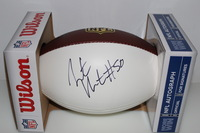 CHIEFS - JUSTIN HOUSTON SIGNED PANEL BALL