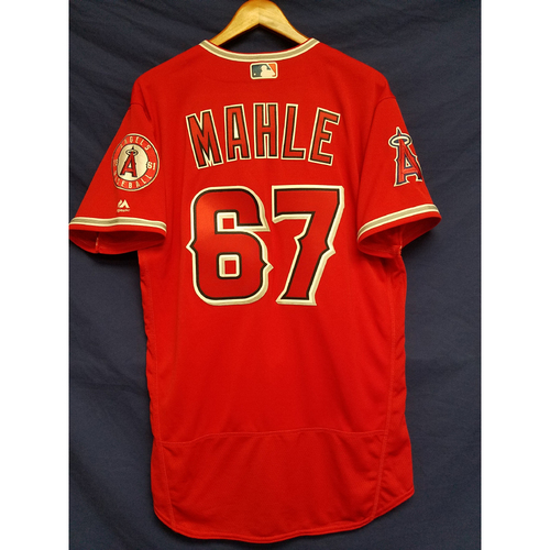 Photo of Greg Mahle Alternate Red Team-Issued Jersey