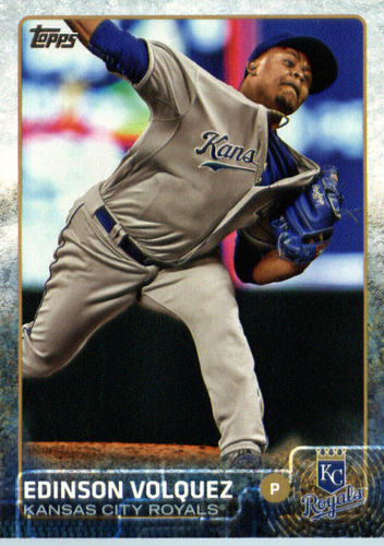 Photo of 2015 Topps Update #US175 Edinson Volquez