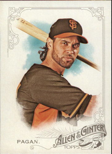 Photo of 2015 Topps Allen and Ginter #343 Angel Pagan