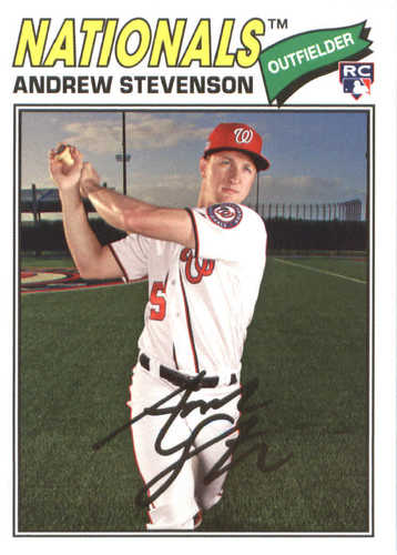 Photo of 2018 Topps Archives #154 Andrew Stevenson RC