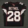 Crucial Catch - Cardinals Justin Bethel game worn Cardinals jersey (October 15, 2017) Size 38