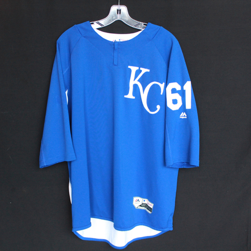 Photo of Team-Issued Batting Practice Jersey: #61 (Size - L)