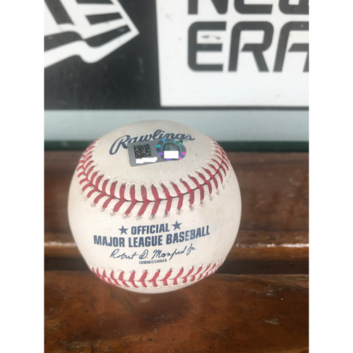 Photo of Cardinals Authentics: Game Used Ball Pitched by Carlos Martinez to Jason Kipnis *Single RBI*