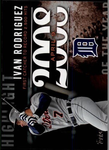 Photo of 2015 Topps Highlight of the Year #H87 Ivan Rodriguez UPD