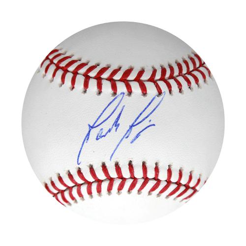 Photo of Autographed Baseball: Jakob Junis