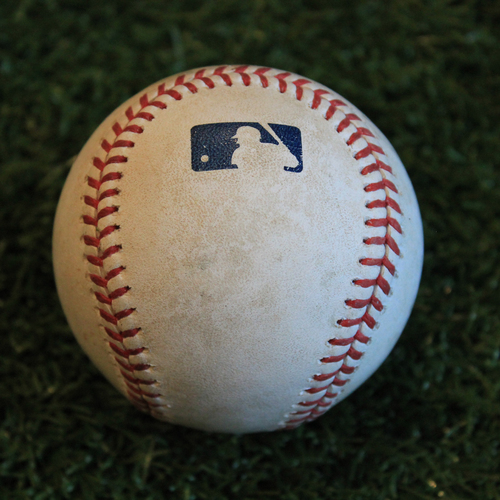 Photo of Game-Used Baseball: Marcus Semien 745th Career Hit (8/28/19 - OAK @ KC)