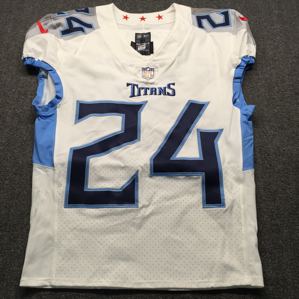 NFL Auction | London Games - Titans Kenny Vaccaro Game Used Jersey ...