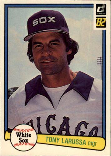 Photo of 1982 Donruss #319 Tony LaRussa MG