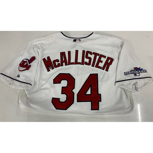 Photo of Zach McAllister Team Issued 2013 Home Jersey