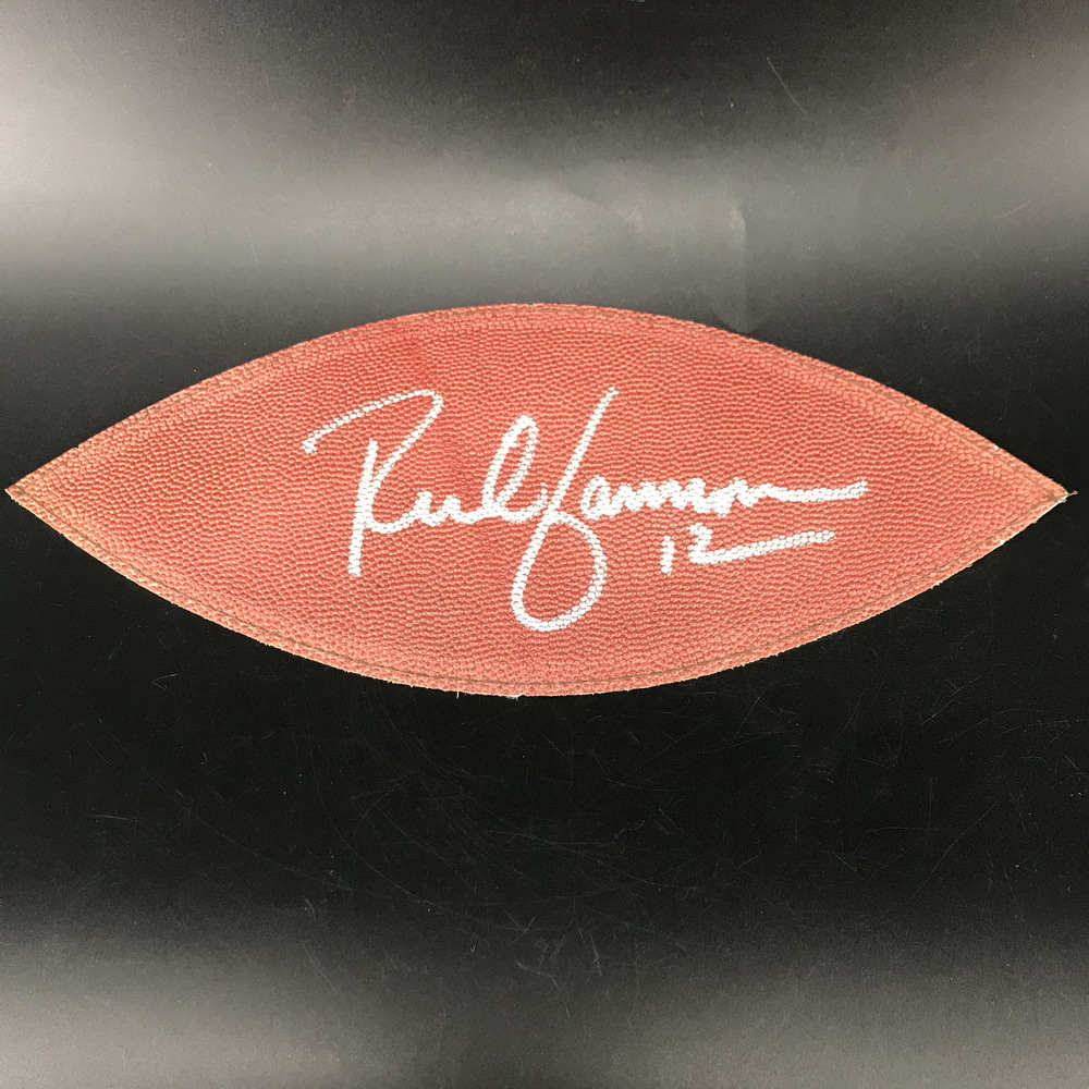 NFL - Raiders Rich Gannon Signed Authentic Panel