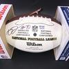 NFL - Raiders Alex Leatherwood Signed Panel Ball