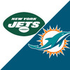Bengals @ Jets Week 8 Ticket Package (Includes 2 Tickets to game on 10.31.21 at Metlife Stadium +  Bart Scott Signed Authentic Football) - Benefitting The Marty Lyons Foundation