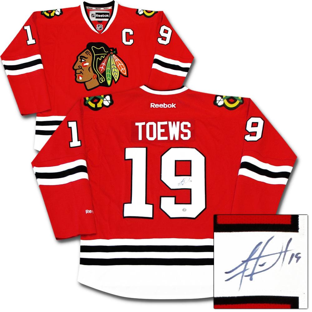 Jonathan Toews Autographed Chicago Blackhawks Jersey