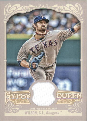 Photo of 2012 Topps Gypsy Queen Relics #CW C.J. Wilson