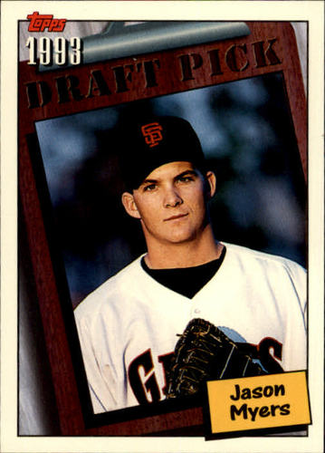 Photo of 1994 Topps #754 Jason Myers RC