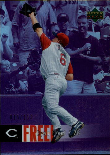 Photo of 2006 Upper Deck Special F/X Purple #134 Ryan Freel /150