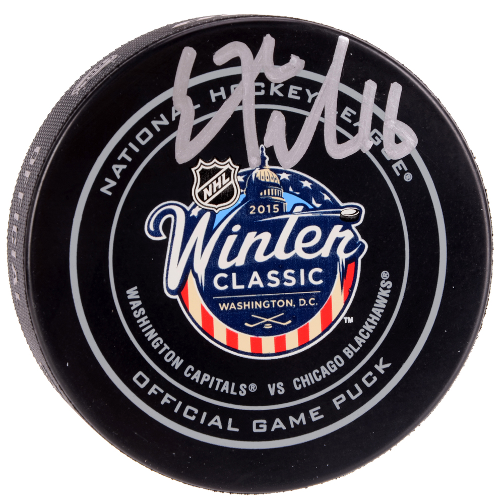 Eric Fehr Washington Capitals Autographed 2015 Winter Classic Official Game Puck