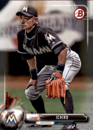 Photo of 2017 Bowman #33 Ichiro