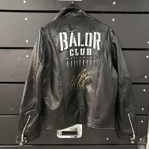 Photo of Finn Bálor WORN & SIGNED Jacket