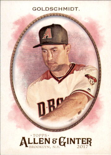 Photo of 2017 Topps Allen and Ginter #125 Paul Goldschmidt