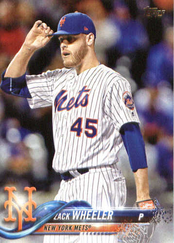 Photo of 2018 Topps #228 Zack Wheeler