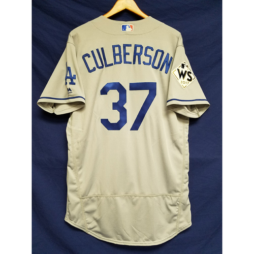 Photo of Charlie Culberson 2017 Road World Series Team-Issued Jersey