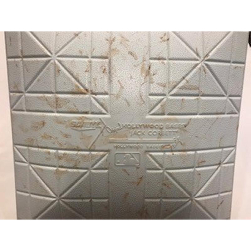 Photo of 2017 Game-Used Father's Day Base