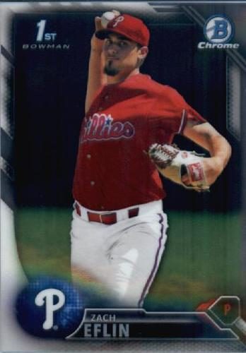 Photo of 2016 Bowman Chrome Prospects #BCP217 Zach Eflin