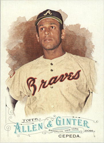Photo of 2016 Topps Allen and Ginter #284 Orlando Cepeda