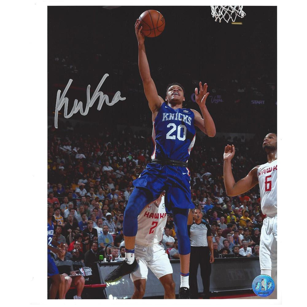 Kevin Knox - New York Knicks - 2018 NBA Draft Class - Autographed ... e1c2c75a5