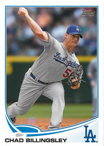 Photo of 2013 Topps #158 Chad Billingsley