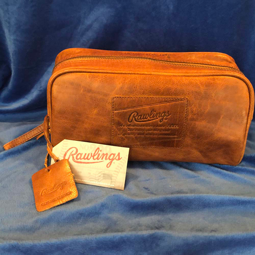 Photo of UMPS CARE AUCTION: Rawlings Rugged Leather Travel Kit