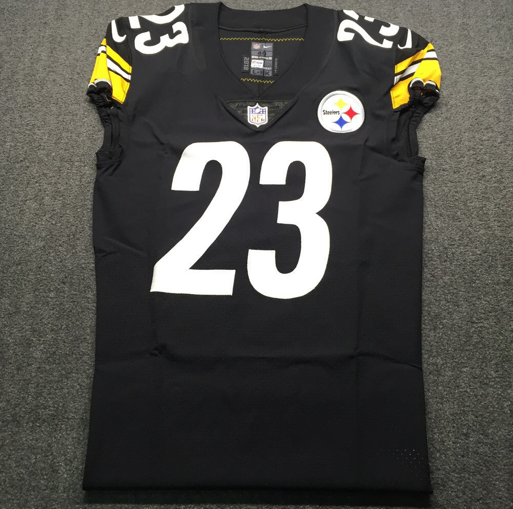 sports shoes 5a610 29de4 NFL Auction | STS - Steelers Joe Haden Game issued Jersey ...