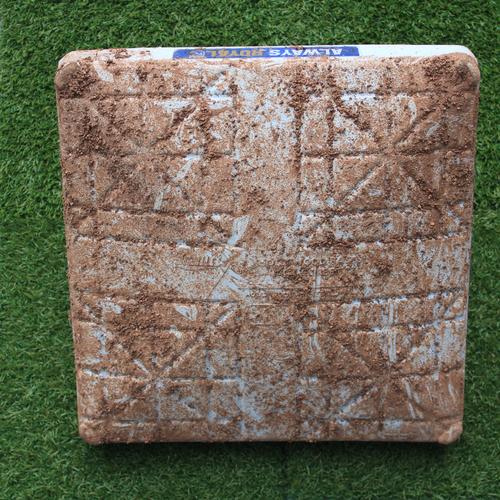 Game-Used 1st Base: Albert Pujols 3,102nd Career Hit (Innings 6-9 - LAA @ KC - 4/28/19)